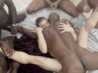 hard black fuckers destroying hole